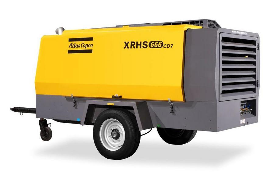 阿特拉斯·科普柯移動空壓機XRHS666