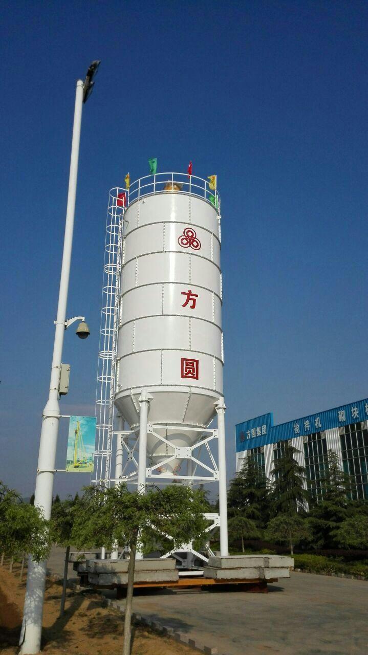 方圆集团ZSC200T分体式水泥仓顺利推广
