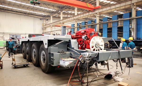 中國重汽20臺輕量化半掛車簽約出口非洲
