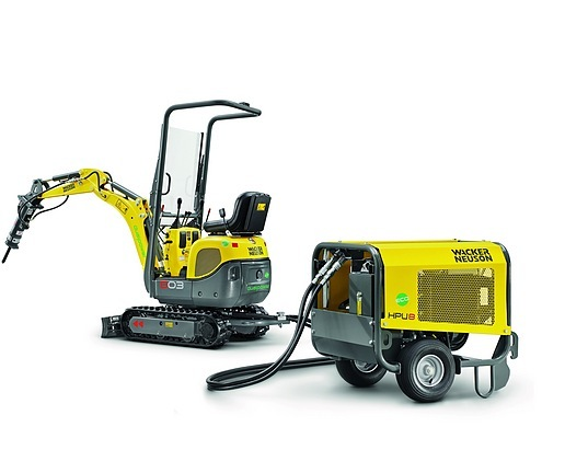 油電雙動力 可開進客廳的迷你挖掘機