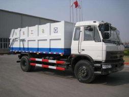 徐工61臺自卸式垃圾車 在陜西省交付