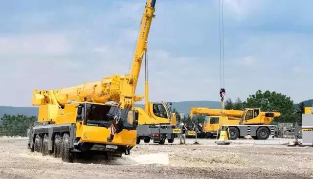利勃海尔新型起重机LTM 1250-5.1亮相