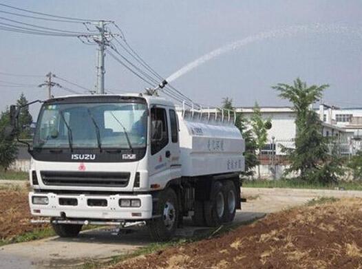 方圓集團出新 QXC型灑水車試制成功