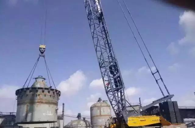 三一650噸履帶式起重機助力哈薩克斯坦