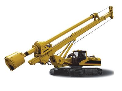 旋挖钻知识 浅谈旋挖钻机施工打滑原因