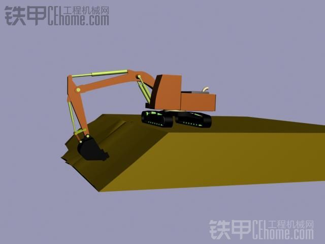 圖解挖機修坡教程 沒經驗也能愉快的賺錢
