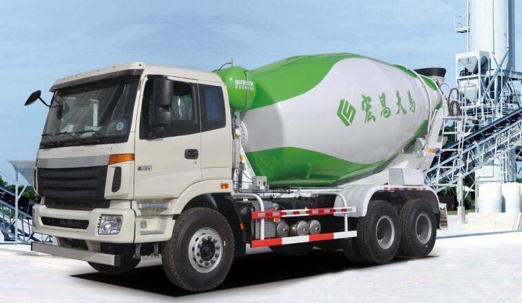 九大優勢 宏昌天馬H9系列混凝土攪拌車