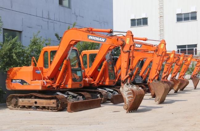 辨識二手小型挖掘機設備好壞的七個招數