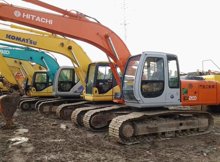科普  日立挖掘機200-2與200-3的區別
