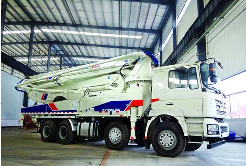 中聯重科陜汽底盤泵車定位南美市場
