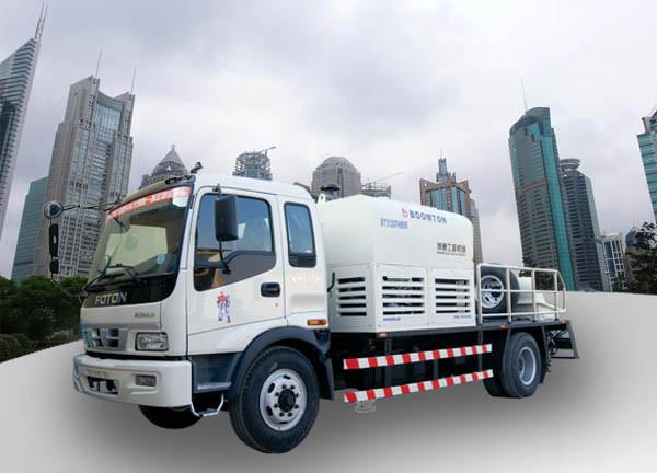 混凝土輸送車載泵應該如何維護保養