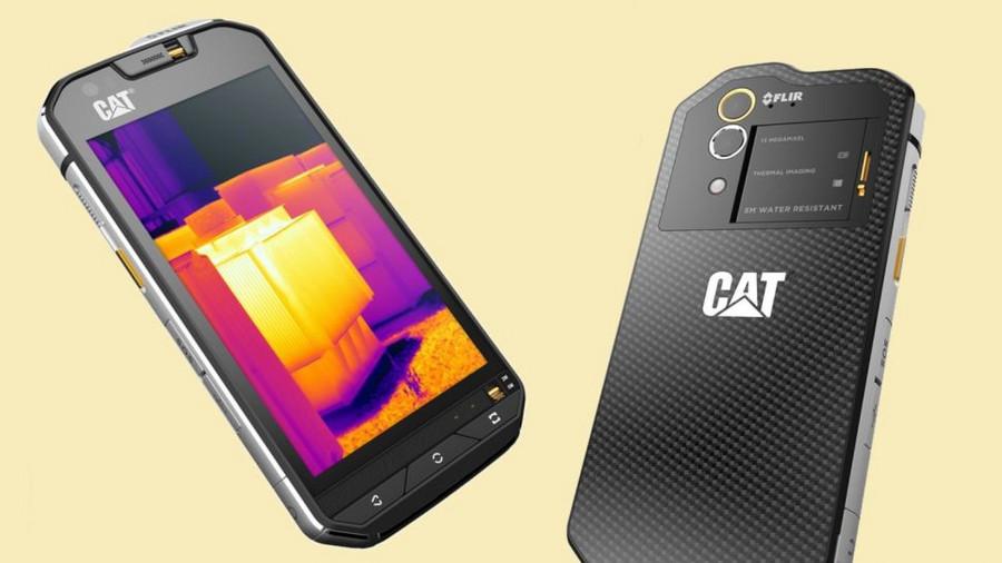 卡特发新款智能手机 搭载热成像系统
