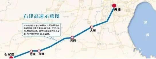 濱石高速天津段開建 天津開車將直達石家莊