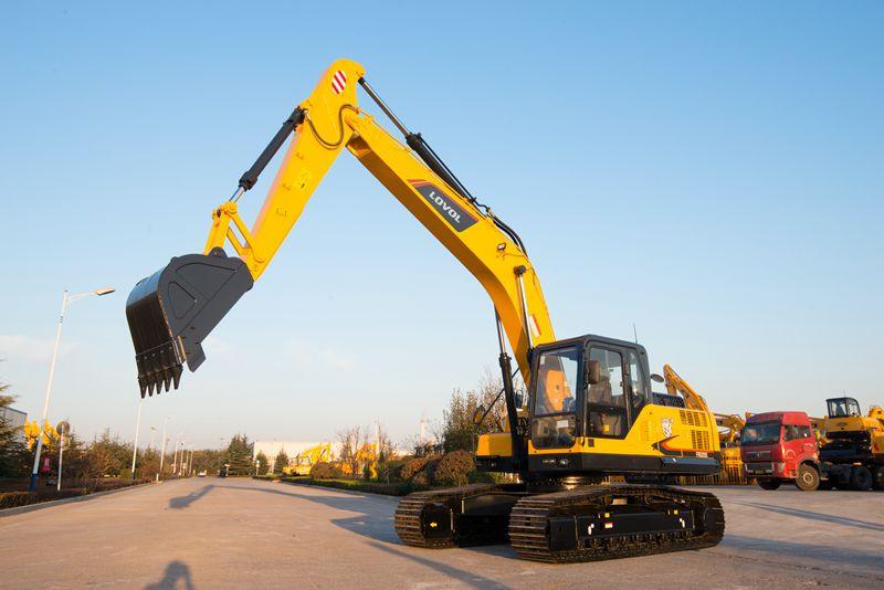 解密雷沃FR220E挖掘机 环保节能