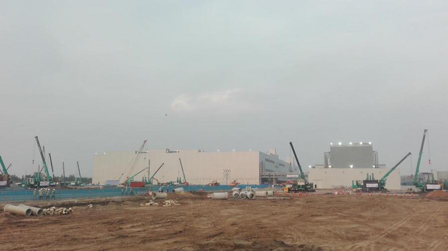 超300台山河智能ZYJ系列压桩机服务越南市场