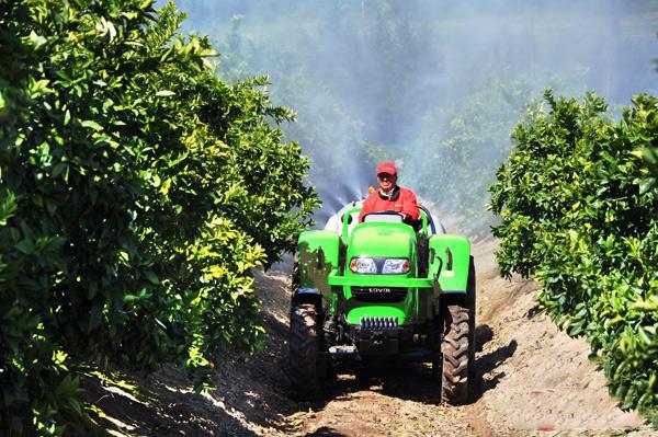雷沃拖拉機助力土耳其果園生產