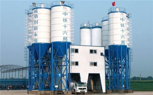 商品混凝土搅拌站生产流程与作业须知