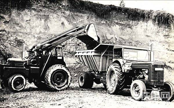 源自農用拖拉機 沃爾沃裝載機走過60年