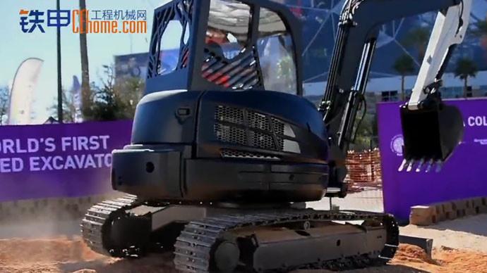 【拉斯维加斯工程机械展】3D打印挖掘机诞生了 快来围观了!