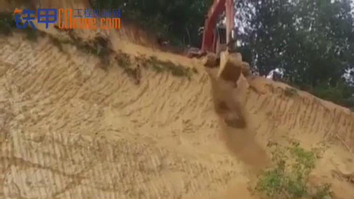 【甲友圈视频】艺高人胆大,90度坡也敢直接下!