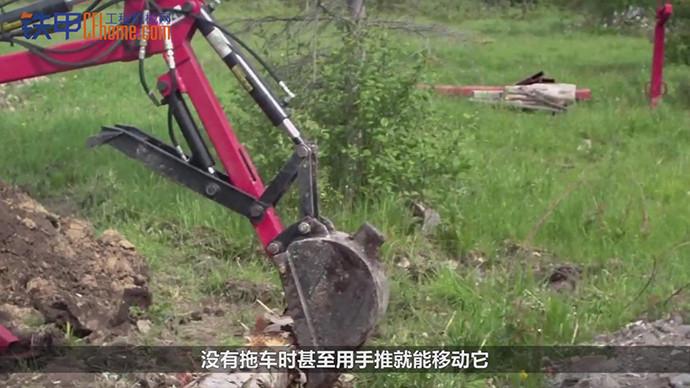 【机械公元】你没见过的小型挖掘机,能挖还特别能挖