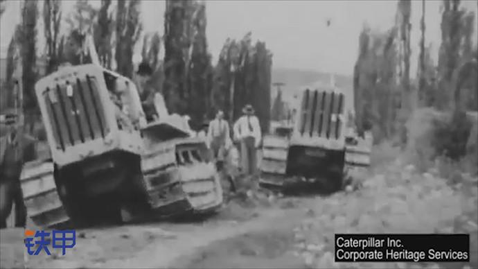 【眼界】歷史影片,1930年在墨西哥城郊外的履帶式拖拉機