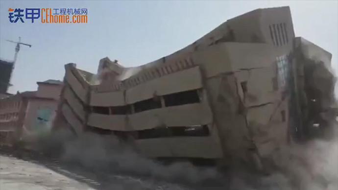 【甲友圈视频】精彩拆楼瞬间
