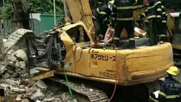 【眼界】挖机事故现场合集,安全警钟长鸣!