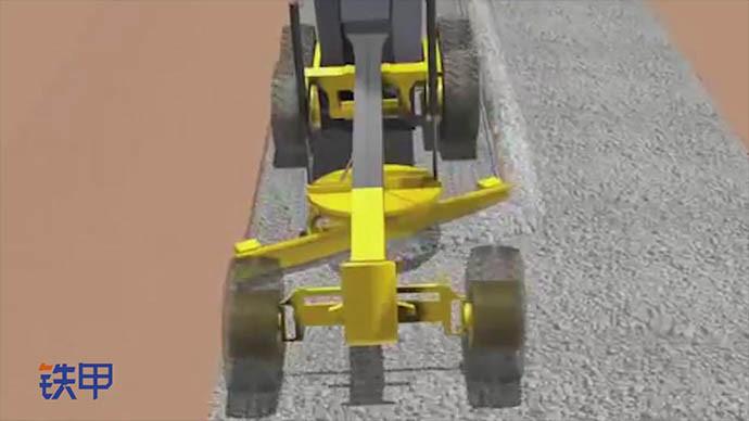 【机械公元】铲运机是如何工作的
