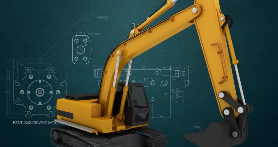 视频:揭秘挖掘机液压泵、分配阀、液压马达!