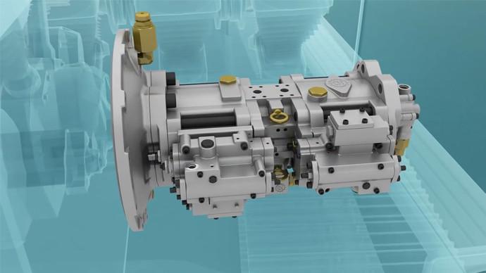 【機械公元】揭秘挖掘機液壓泵、分配閥、液壓馬達!