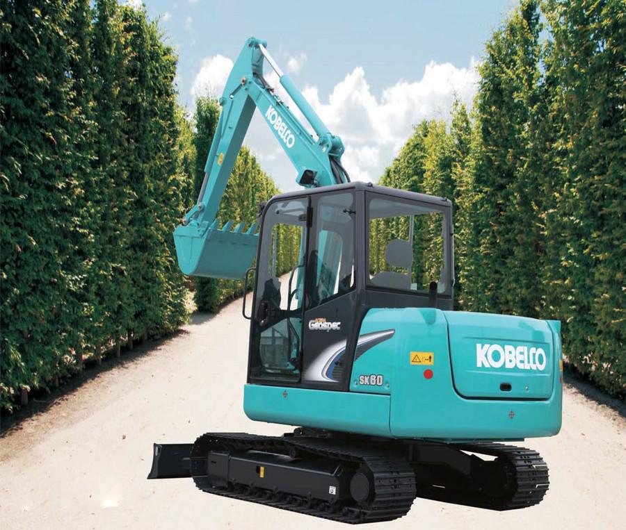网友评出最省油的6吨小挖 神钢SK60-8挖掘机怎么样?
