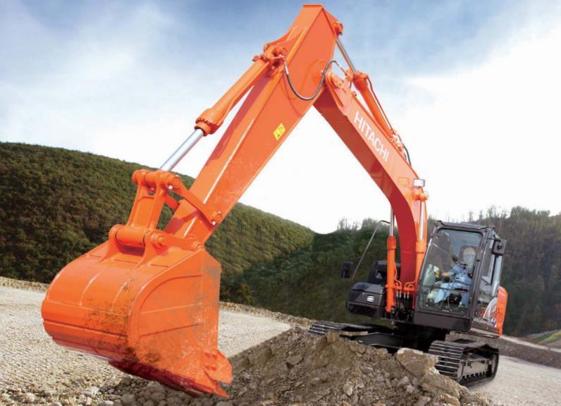 綠色環保13噸機 日立ZX130-5A挖掘機怎么樣?