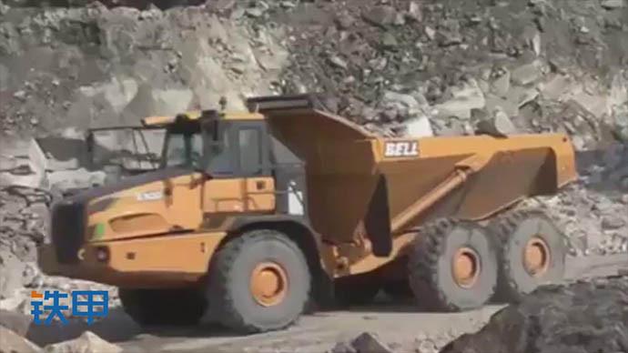【眼界】欣赏,BELL贝尔B50铰接式矿用自卸重型卡车