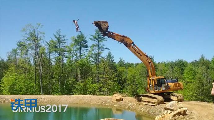 【眼界】放开那挖机!挖掘机被你们玩坏了!