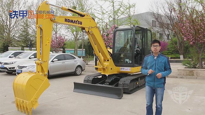 5吨短尾小霸王 小松56-7挖掘机怎么样?