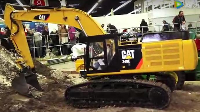 【眼界】超强仿真工程机械模型 挖掘机自卸车应有尽有