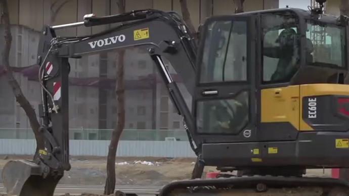 【眼界】沃爾沃EC60E挖掘機作戰大揭秘