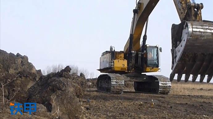 【眼界】卡特85吨挖掘机,挑战不可能!