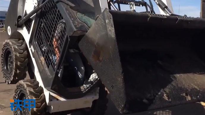 【眼界】不愧是世界第一辆滑移装载机制造者——山猫