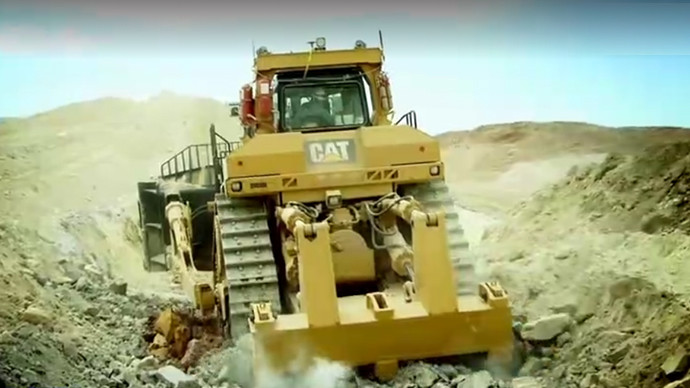 【机械公元】113吨卡特彼勒D11T推土机 你知道多少