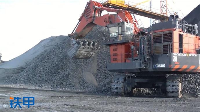 【眼界】大型煤矿真实作业环境,所有机型都是加大号