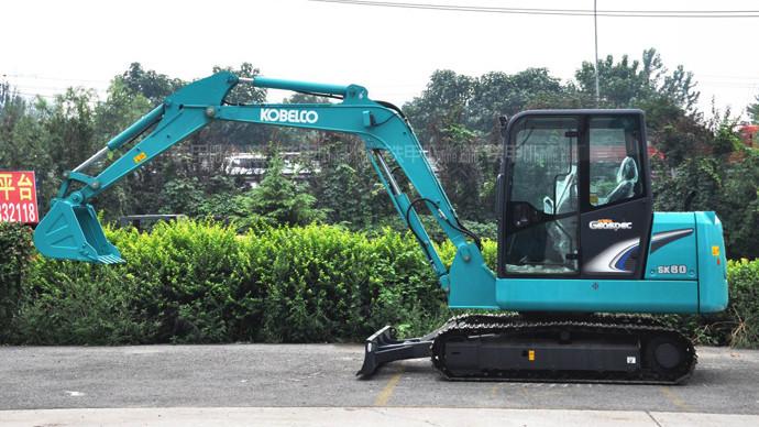 【秒懂挖机】神钢SK60-8挖掘机怎么样?