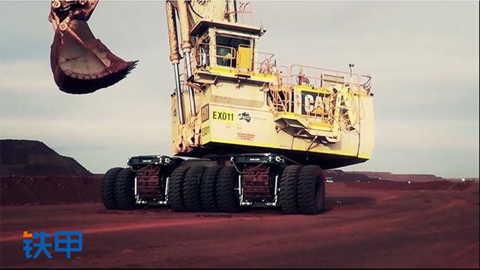 【眼界】威武雄壯!超過550噸的挖掘機們