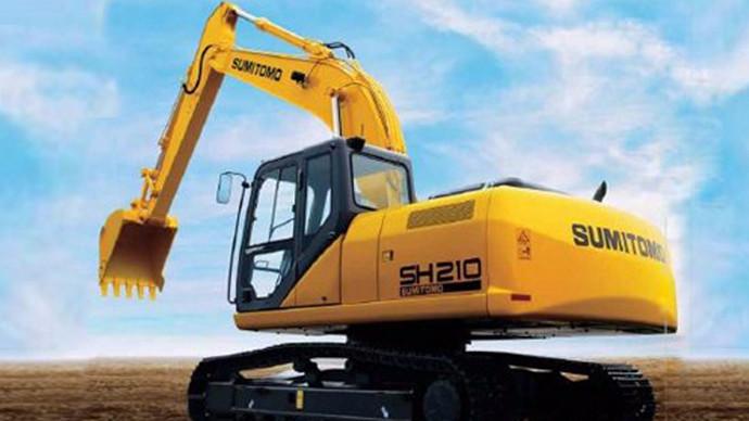 【秒懂挖机】住友SH210-6挖掘机怎么样?