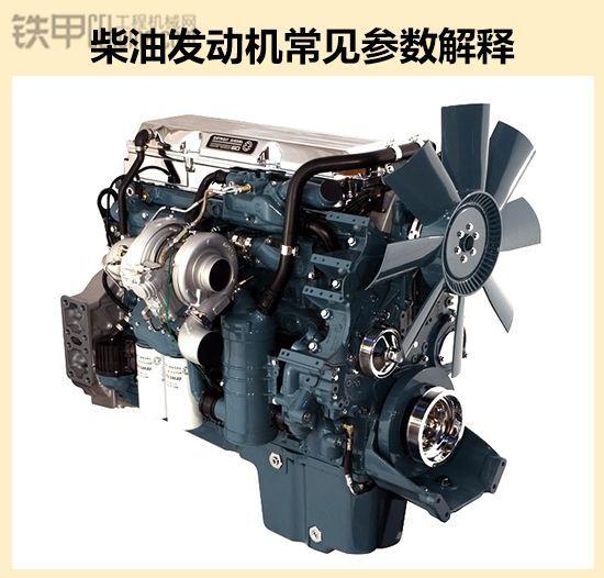 挖掘機的心臟好不好  柴油發動機常見參數解釋