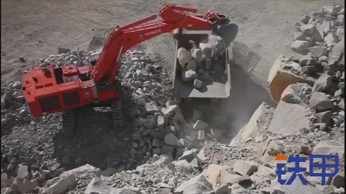 【甲友】80吨的挖机,竟然被我看成了模型