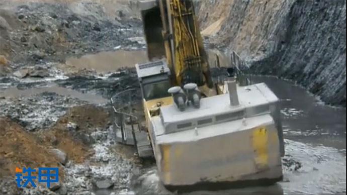 【眼界】如何自救?小松PC1250被困在礦坑里!