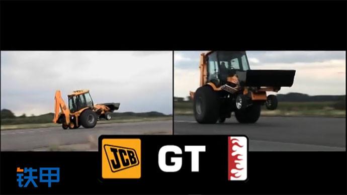 【眼界】杰西博装载机炫技视频,如赛车般的发动机!