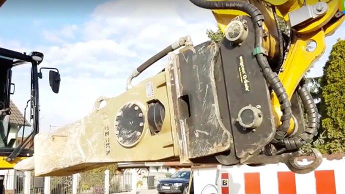 【眼界】Cat M318F全液压快速连接器 方便快捷值得拥有